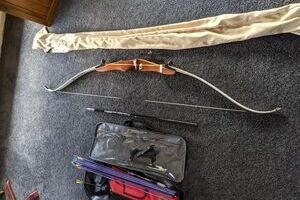 34 Pound Competition Recurve Bow