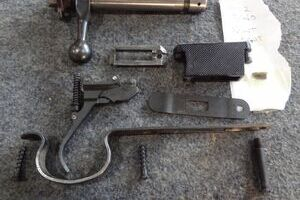 BRNO MODEL 2 BOLT AND OTHER PARTS....USED!!