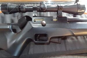 FX TYPHOON 12 PCP AIR RIFLE +EXTRAS...USED!!