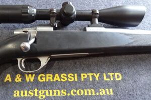 WEATHERBY VANGUARD STAINLESS/SYNTHETIC 22/250 ....USED!!