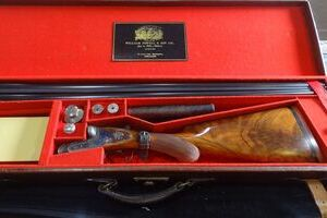 WILLIAM POWELL & SONS SXS 12G GAME GUN....USED!!